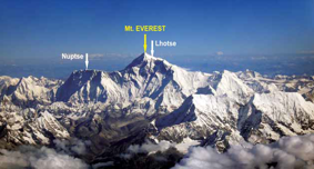 View from the Nepal side