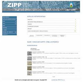 ZSDI metadata catalogue
