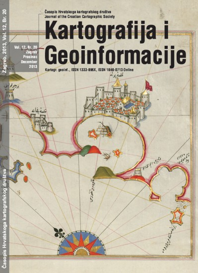 Cartograhy and Geoinformation, No. 20
